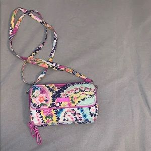 Vera Bradley wallet with phone pocket